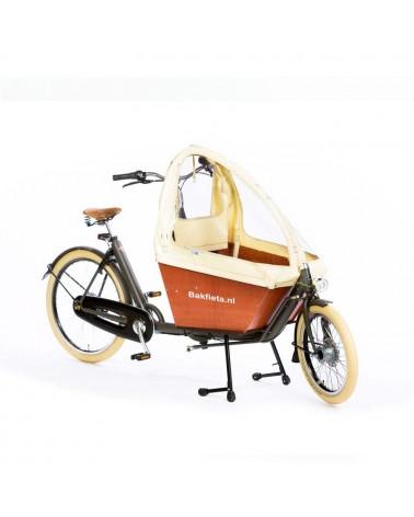 Biporteur électrique court - BAKFIETS